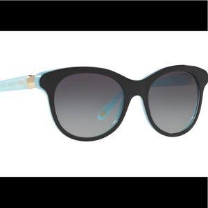 💐TIFFANY & CO TF 4125 BLACK/TF BLUE SUNGLASSES 😎